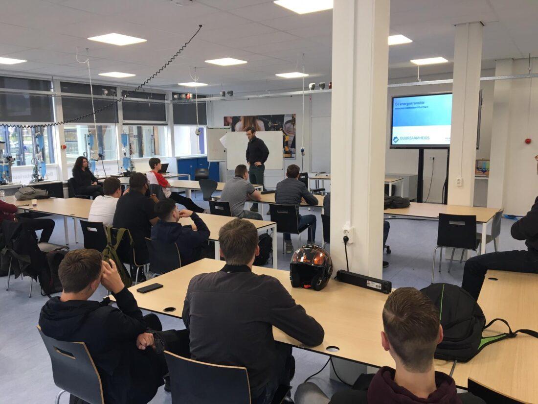 Duurzaamheidscertificering geeft presentatie bij ROC Midden Nederland