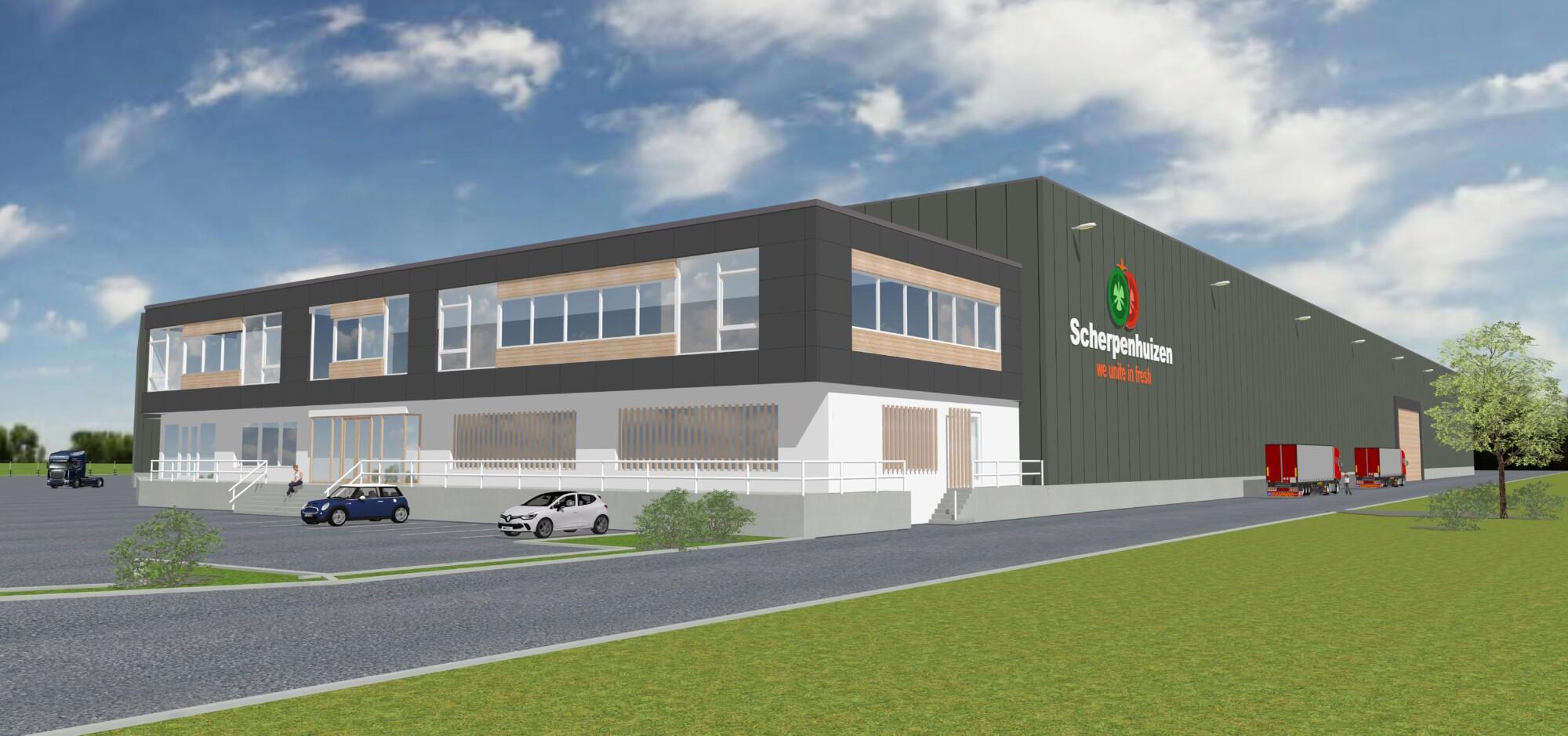 Nieuw distributiecentrum Scherpenhuizen